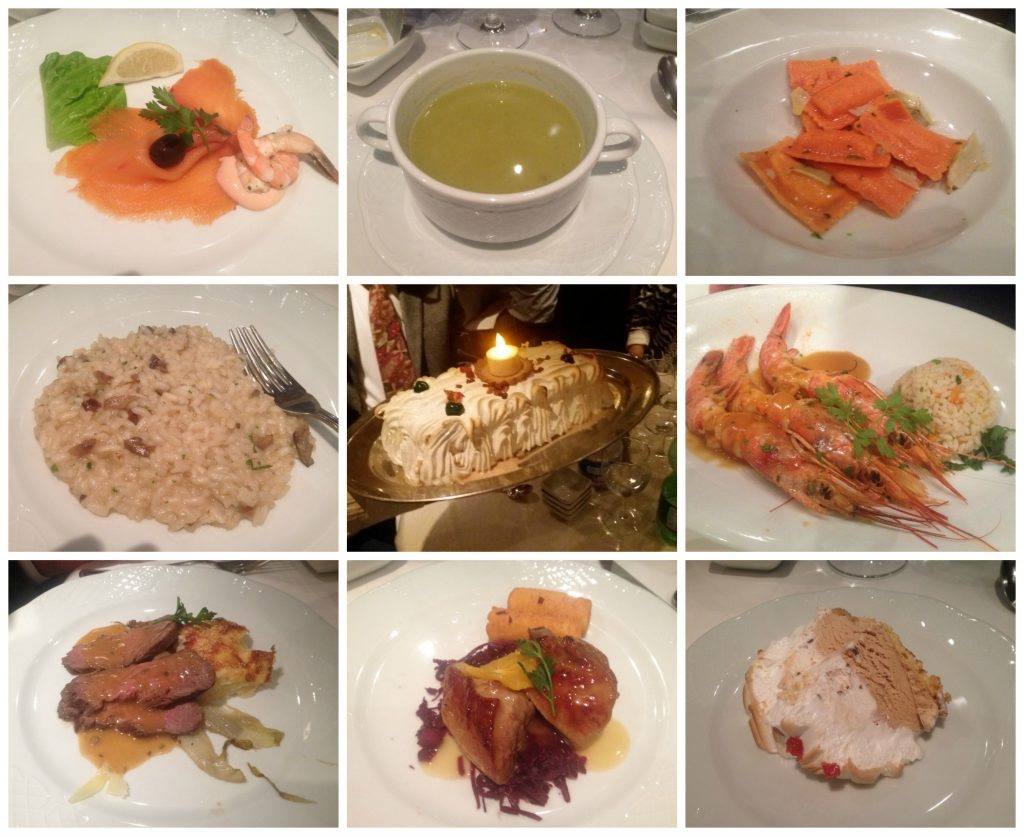 Gala dinner meals