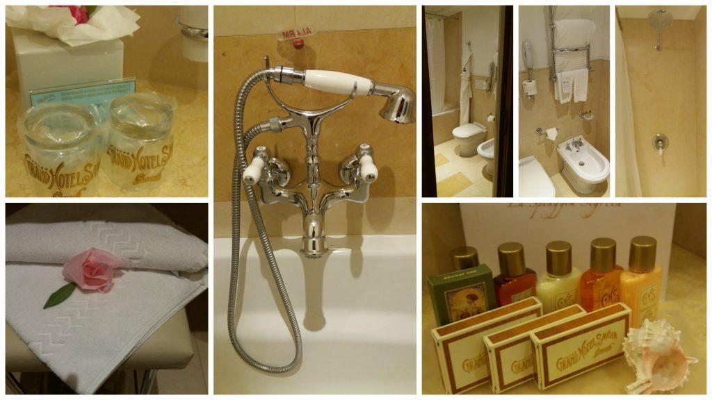 Grand Hotel Savoia bathroom