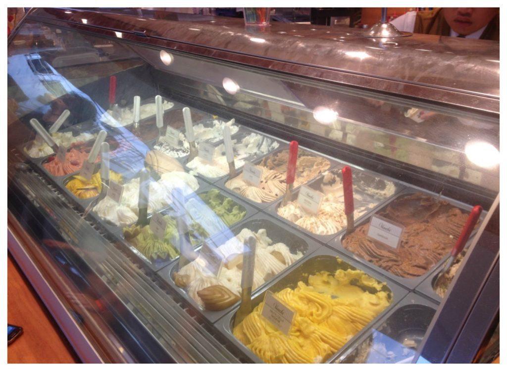 Ice cream from the Pirana Bar on MSC Poesia