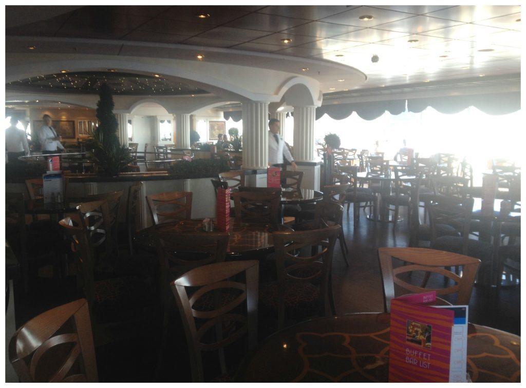 L'Obelisco buffet restaurant on MSC Poesia