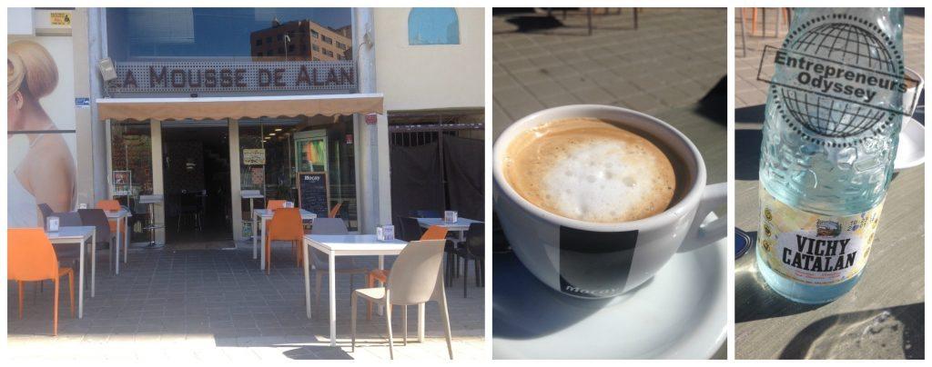 La Mousse de Alan cafe near to Gran Via shopping center