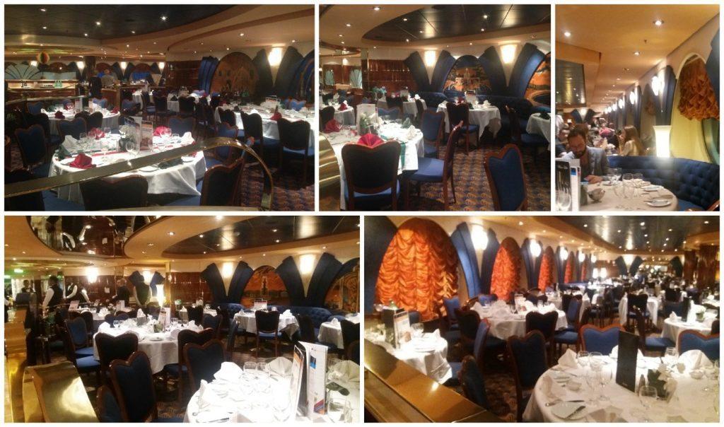 Le Fontane Restaurant on MSC Poesia