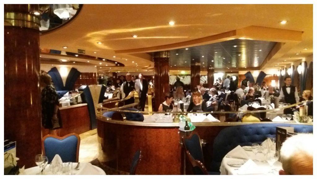 Le Fontane restaurant MSC Poesia