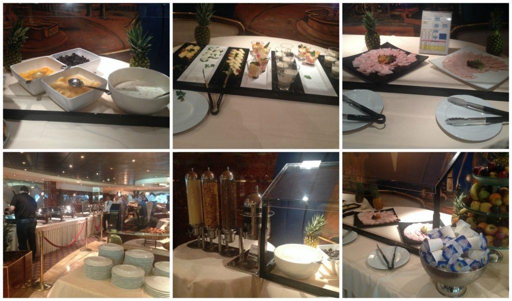 Le Fontane restaurant breakfast buffet