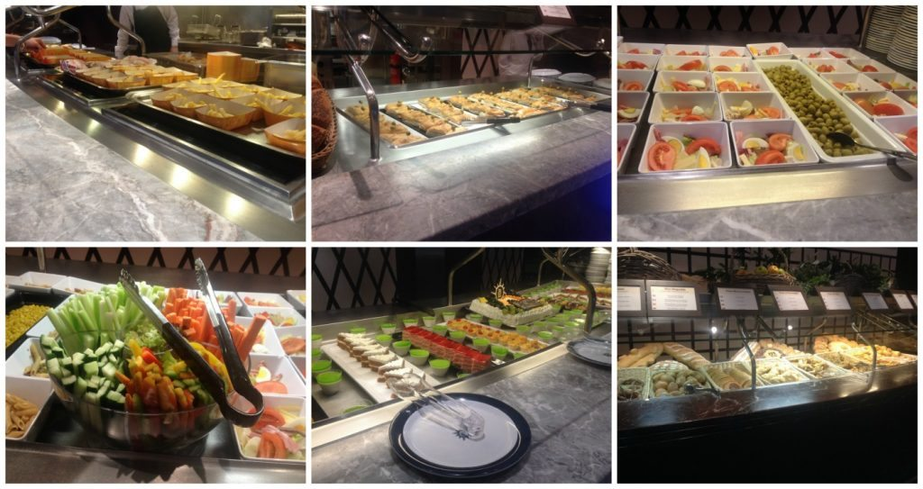 MSC Poesia lunch buffet selection #2