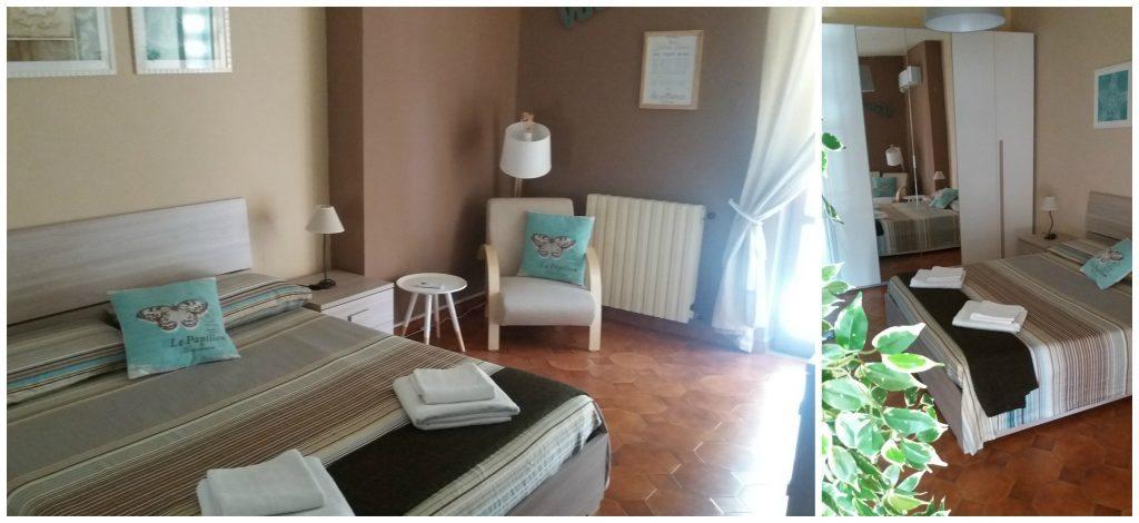 Master bedroom AirBnB Formia