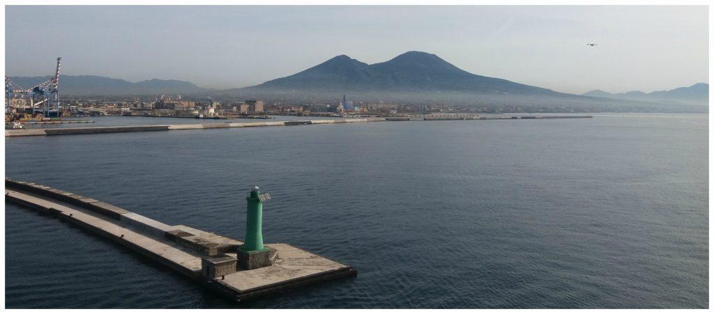 Mt Vesuvius in Naples