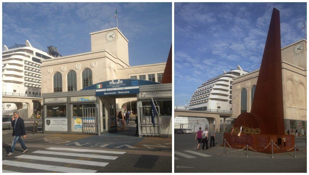 Naples cruise terminal