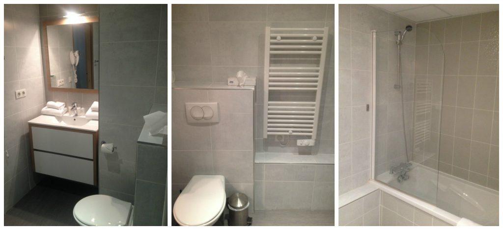 Odalys Appart Hotel bathroom in Montpellier