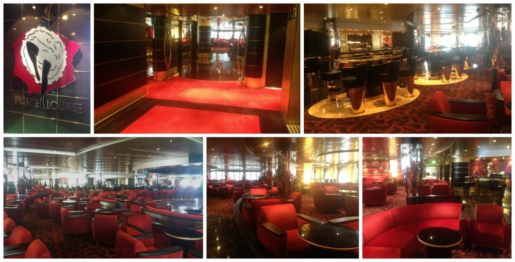 Pigalle Lounge by day on MSC Poesia