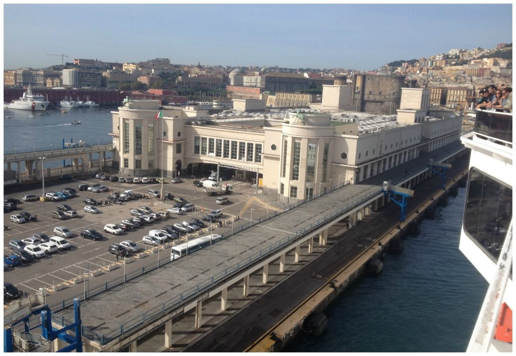 Cruise terminal in the Port of Naples
