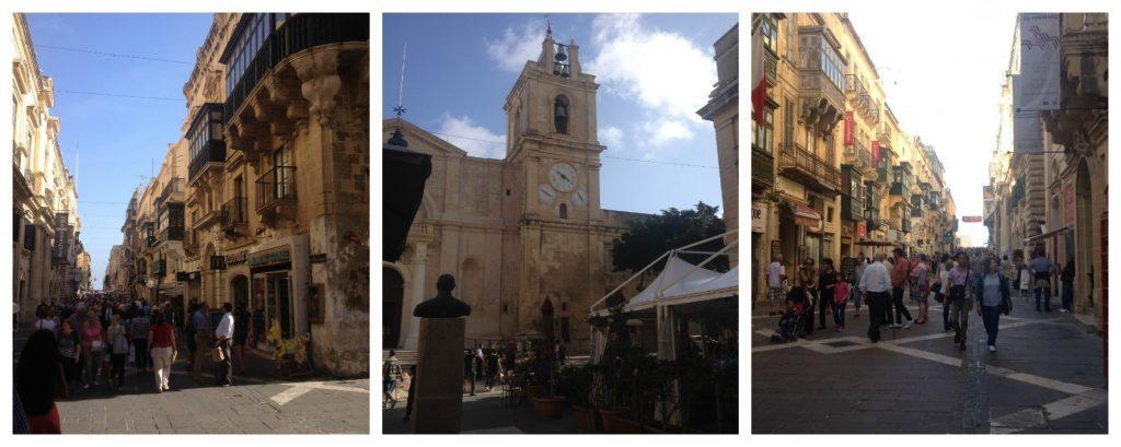 Sights in Valletta