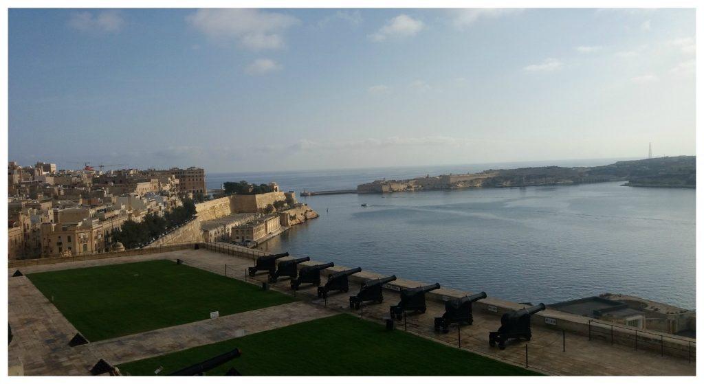 The Battery at Barrakka Gardens Valletta
