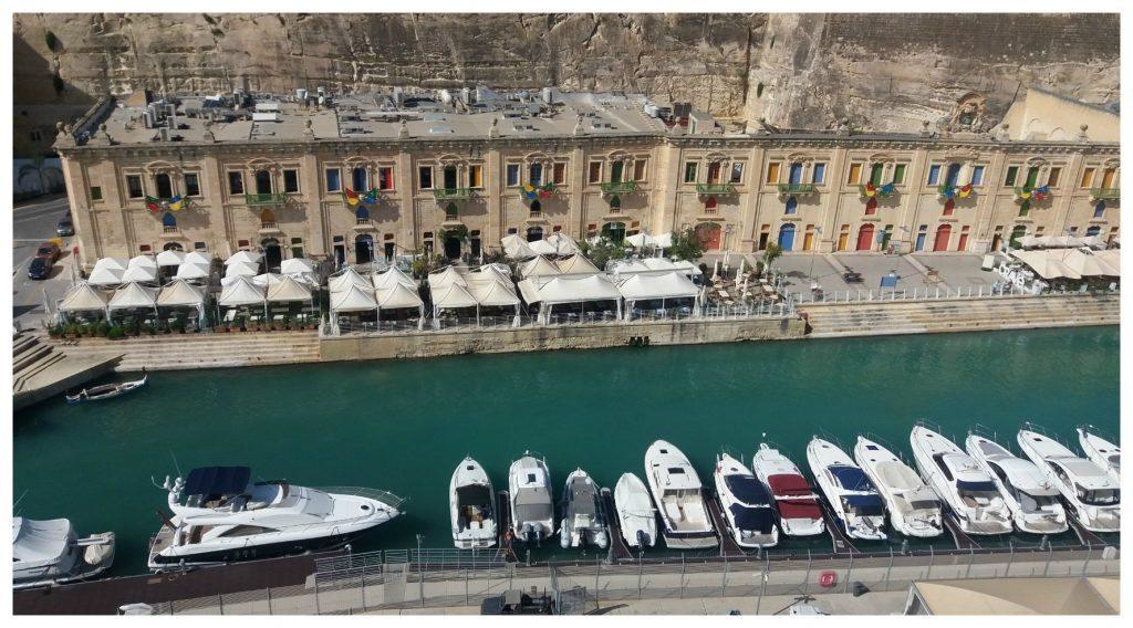 Valletta Marina from the ship
