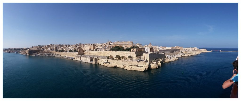 Valletta from the ship