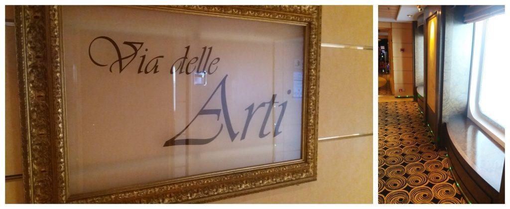 Via Delle Arti on MSC Poesia