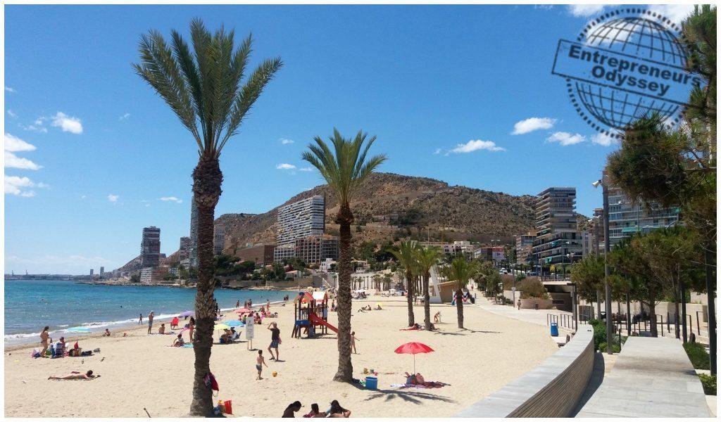 Albufereta beach Alicante