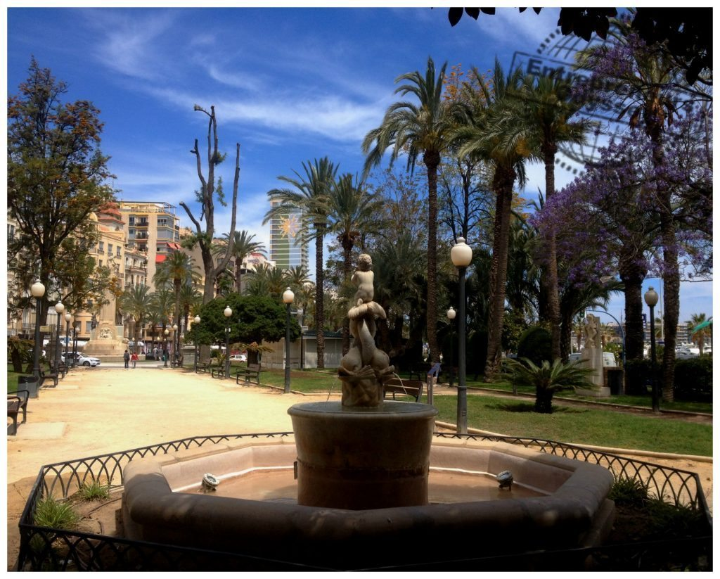 Alicante Explanada de España