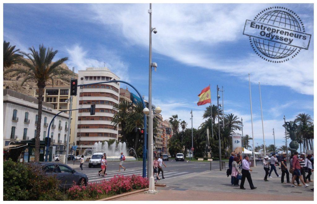 Alicante marinaport area