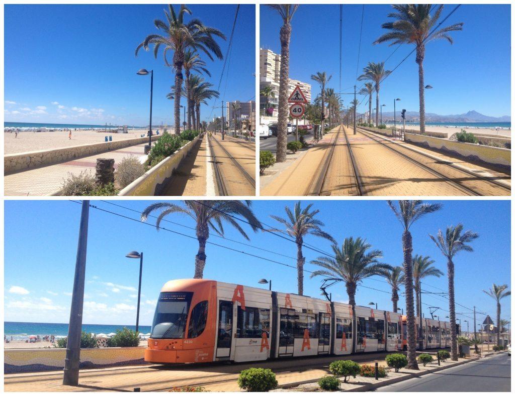 Alicante tram service
