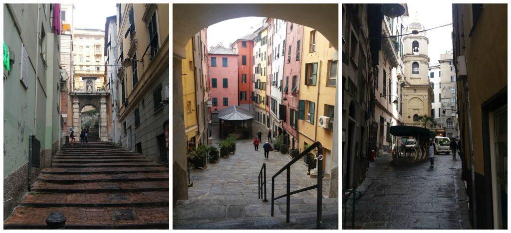 Archways & allyways in Genoa