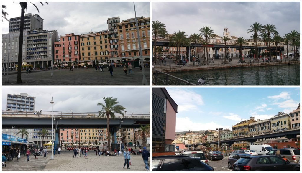 Down by the harbour in Genoa