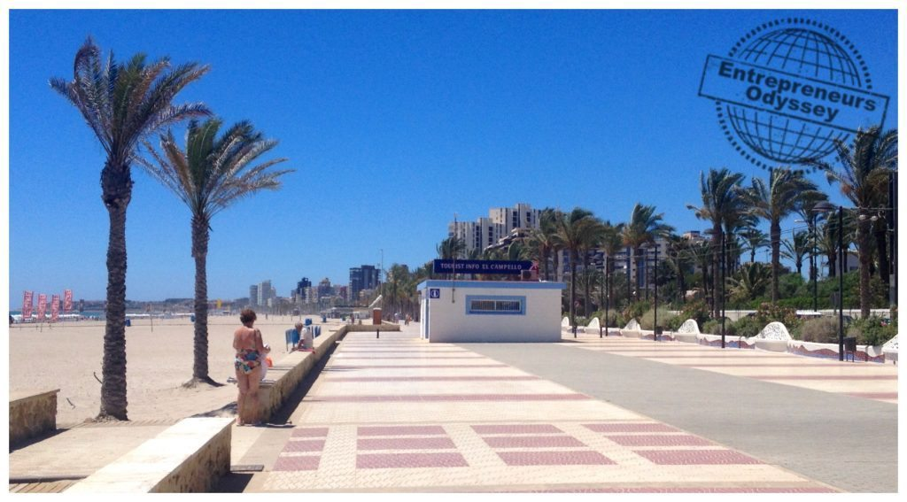 El Campello beach Alicante