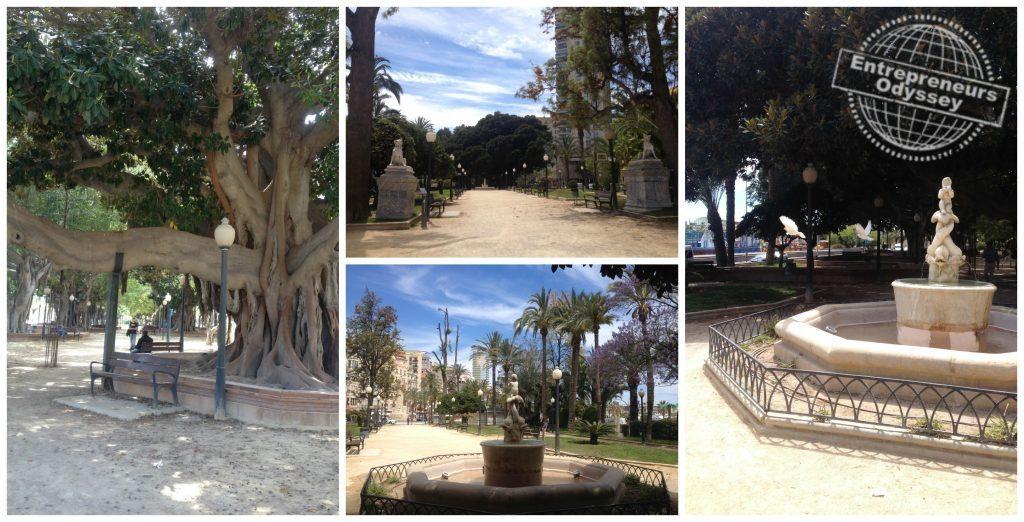 Explanada de España in Alicante