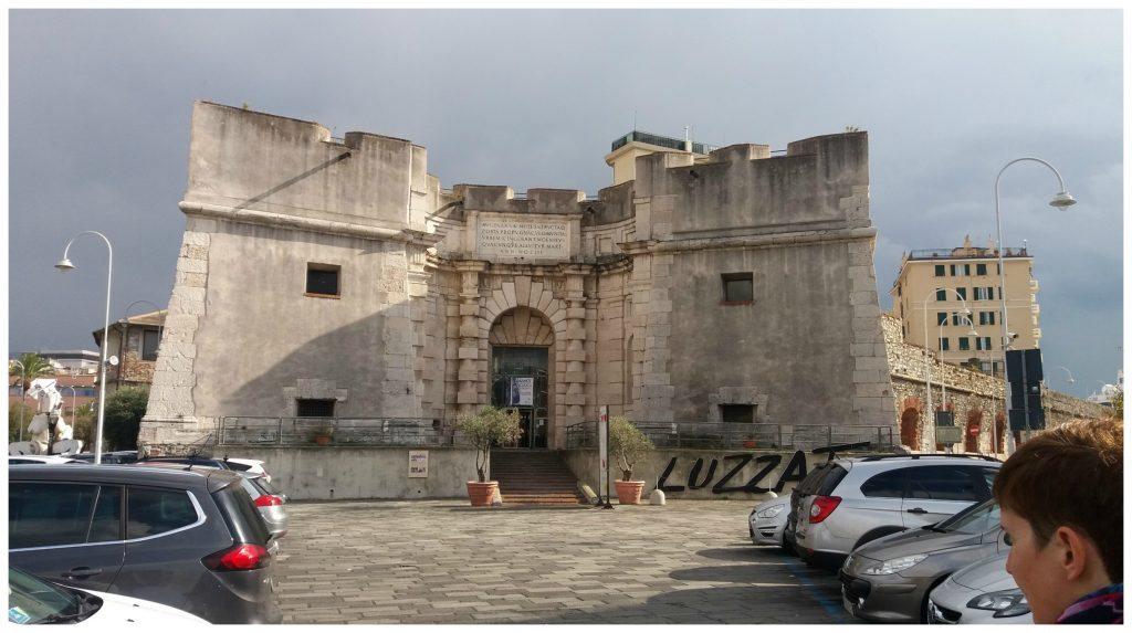 Fort in Genoa - Luzzati Museum