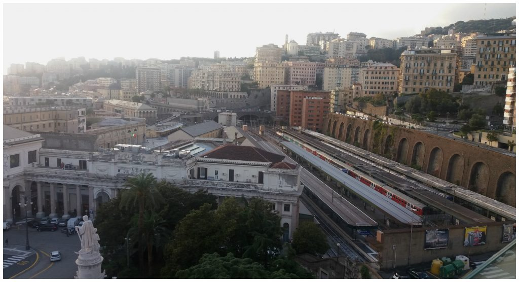 Genoa train station