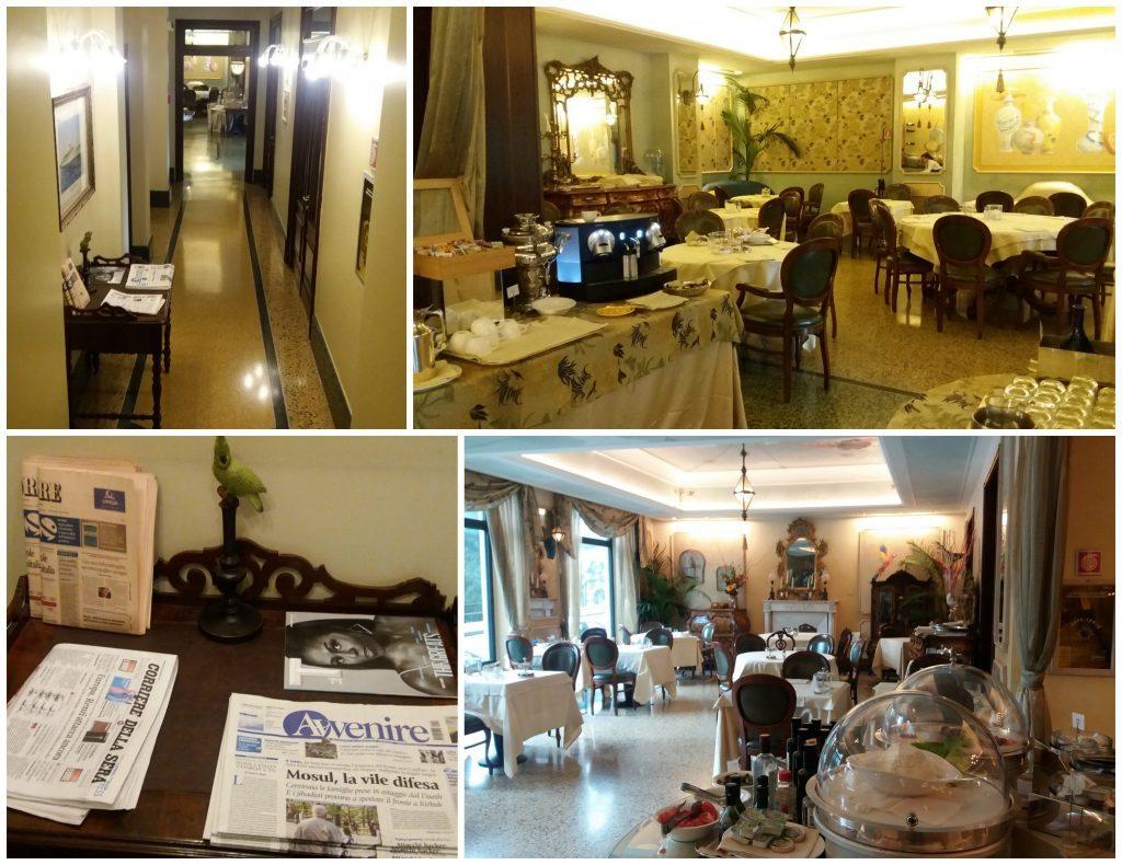 Grand Hotel Savoia restaurant