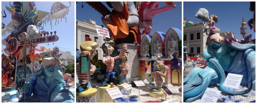 Hogueras festival in Alicante
