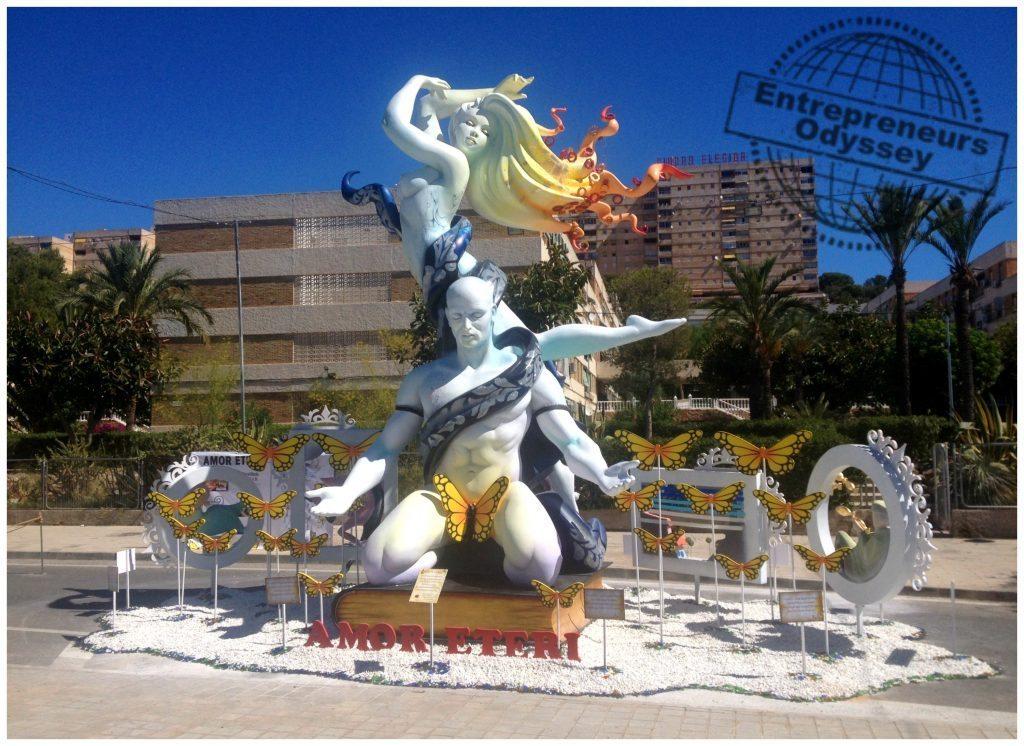 Hogueras in Alicante