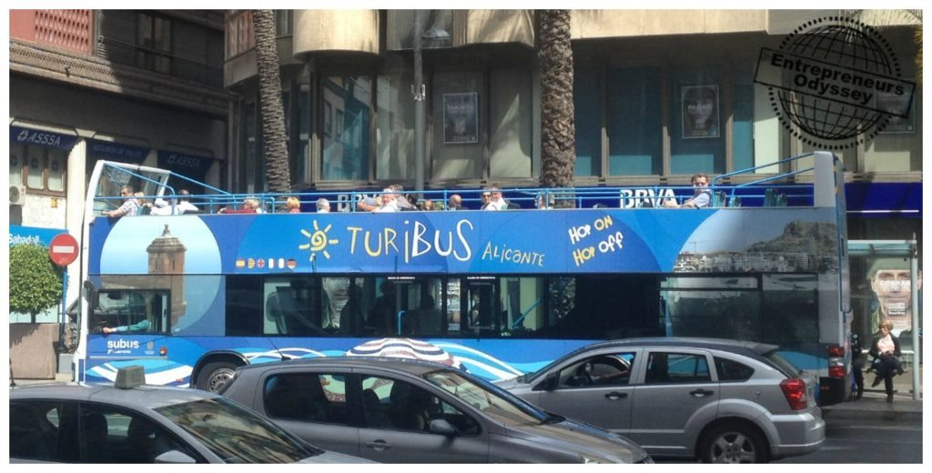 Hop on Hop off bus in Alicante
