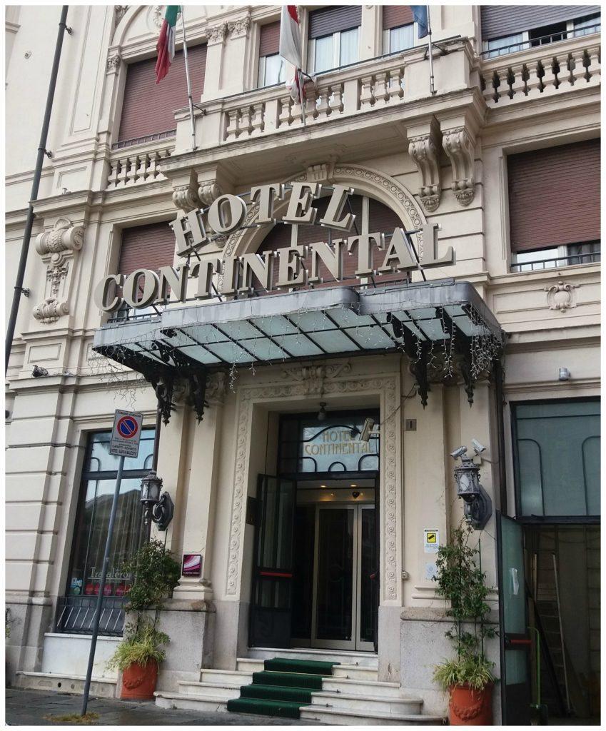 Hotel Continental in Genoa