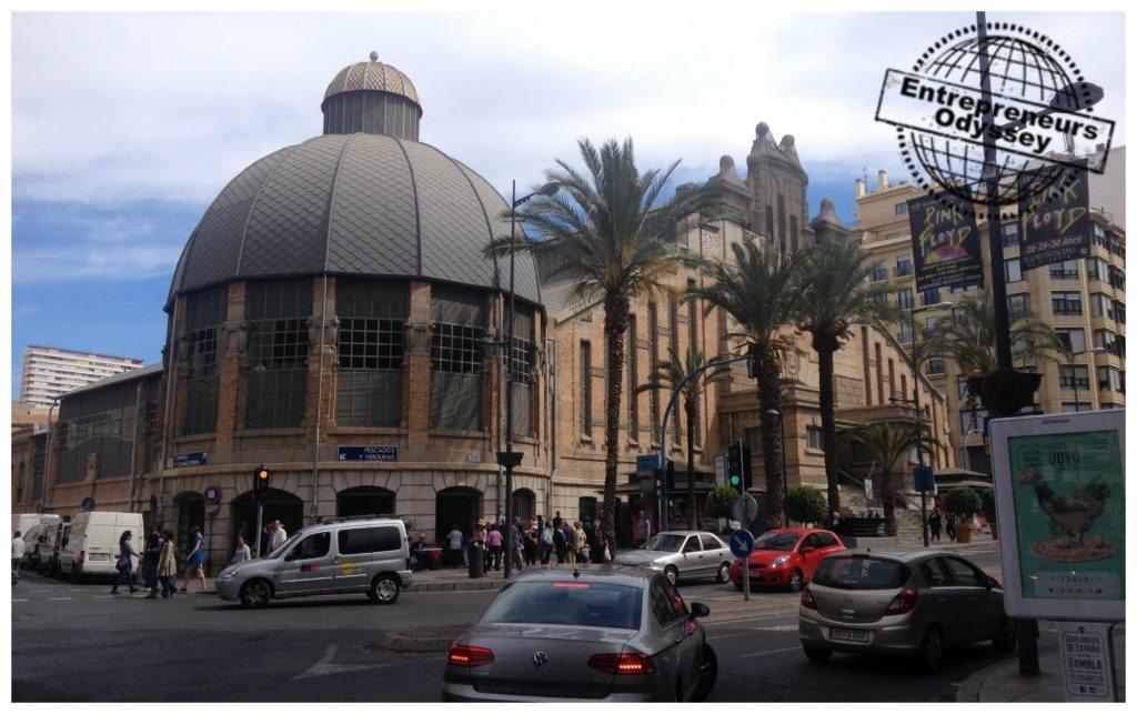 Mercado Central Alicante - central markets in Alicante Spain