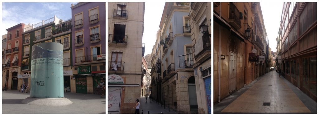 Old town Alicante
