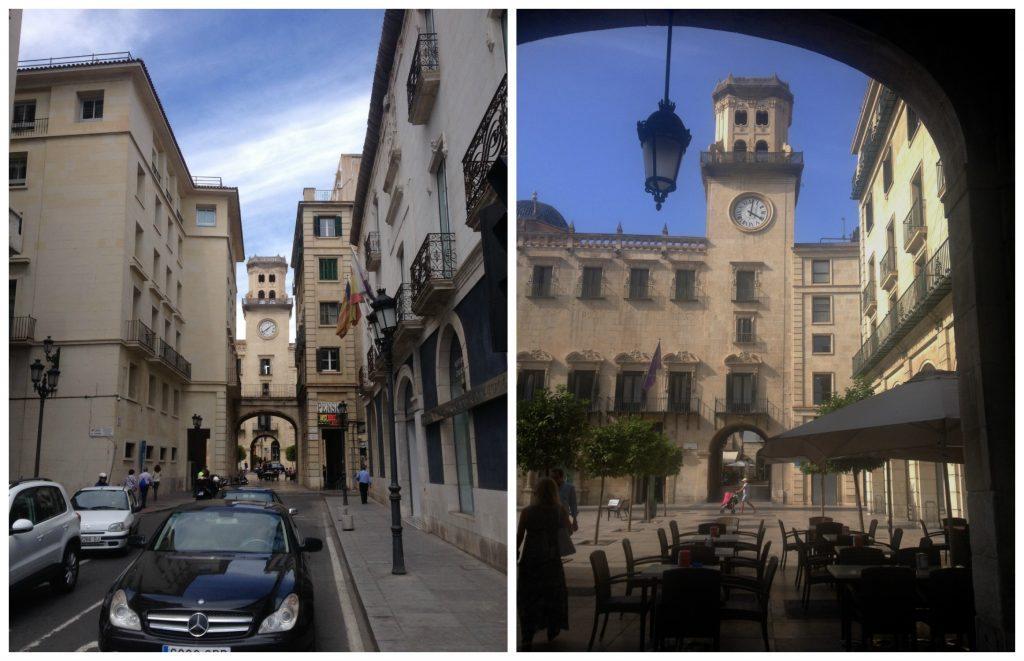 Plaça ajuntament Alicante