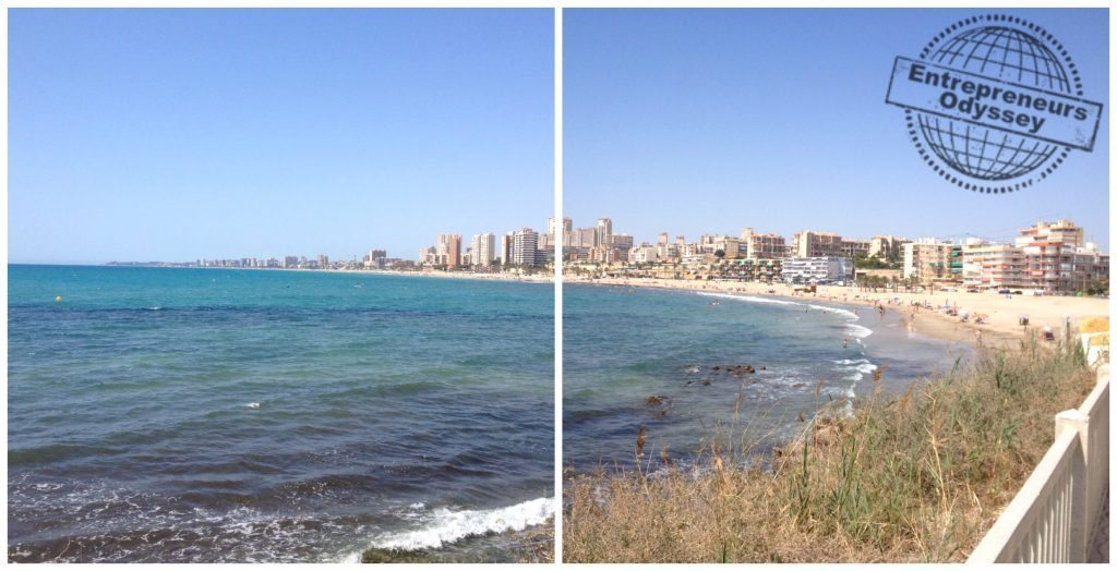 Playa Muchavista on the Costa Blanca Spain