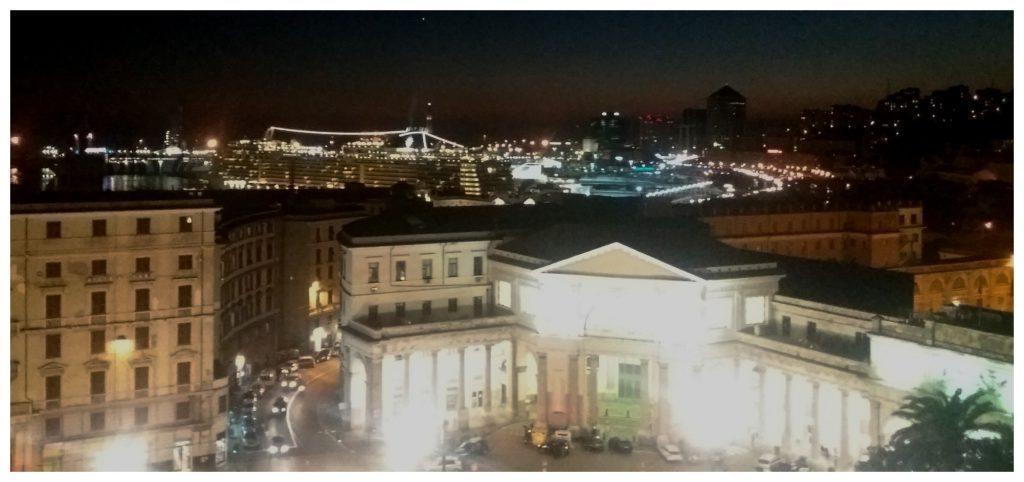 Port of Genoa & the train station