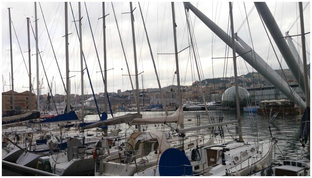 Porto Antico, old port, Genoa marina