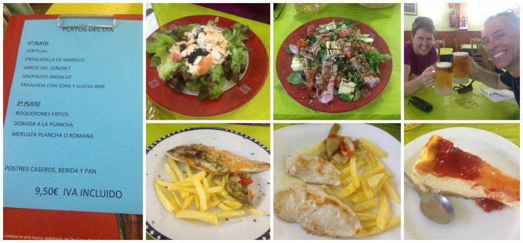 Restaurante Rio, Carrer Portugal - Menu del Dia 9.50 Euro