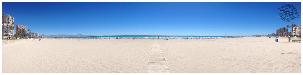 San Juan beach Alicante
