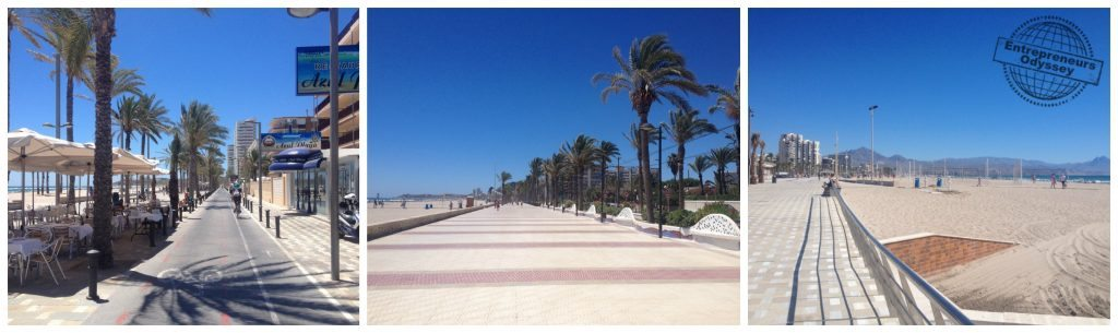 San Juan beach Costa Blanca Spain