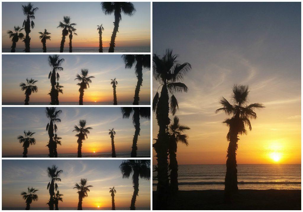 Sunrise at San Juan beach Alicante 2016