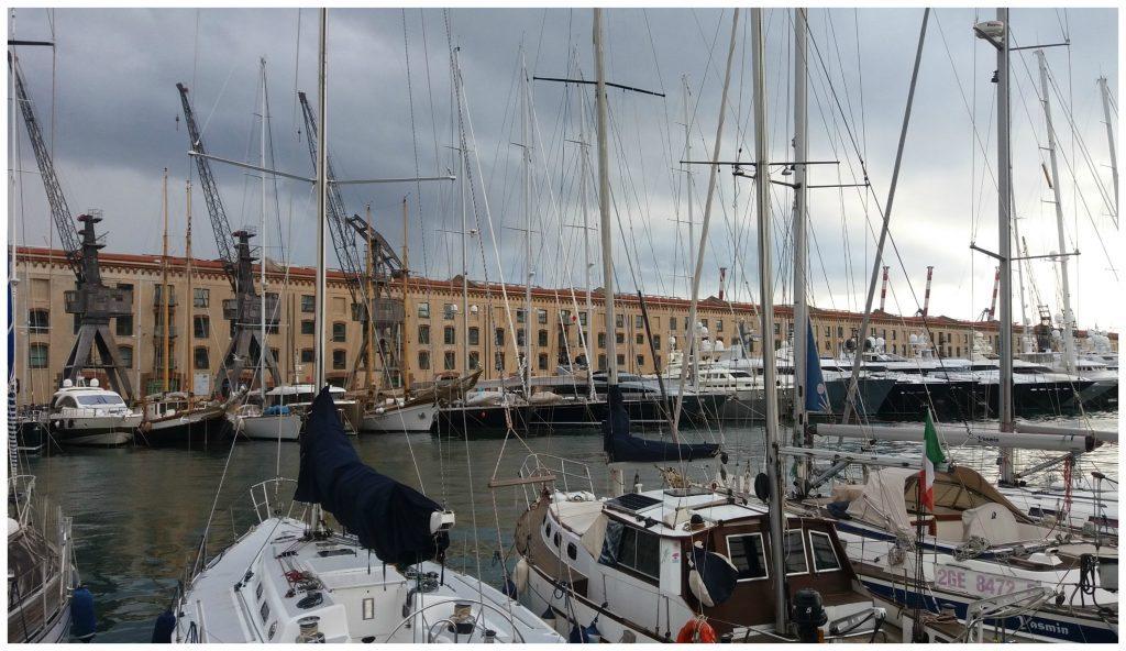 The old port - Magazzini del Cotone building