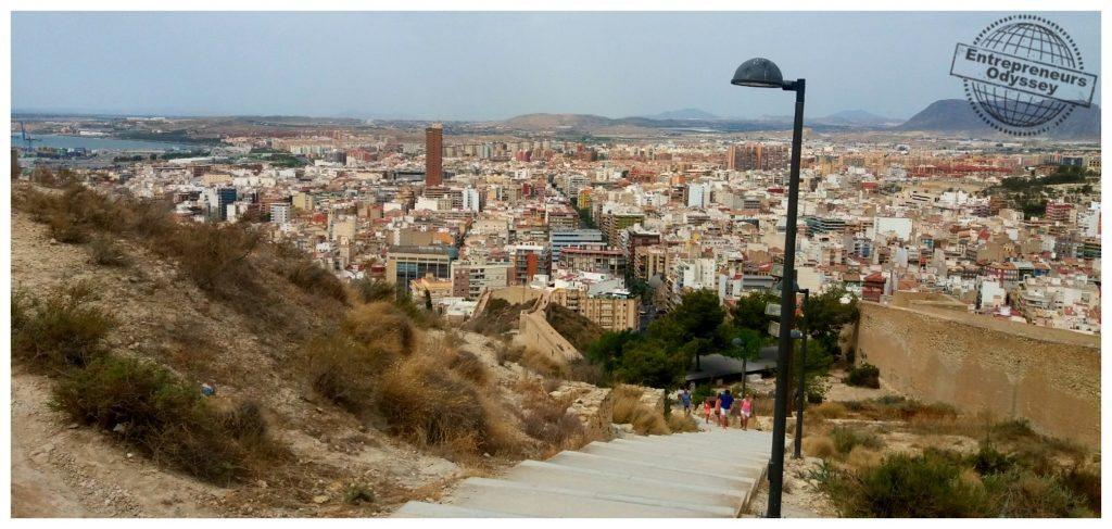 Walking up to the Castle Santa Barbara Alicante.jpg
