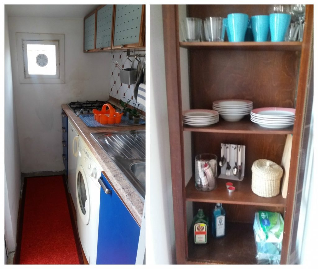 AirBnB in Rome, Kitchen