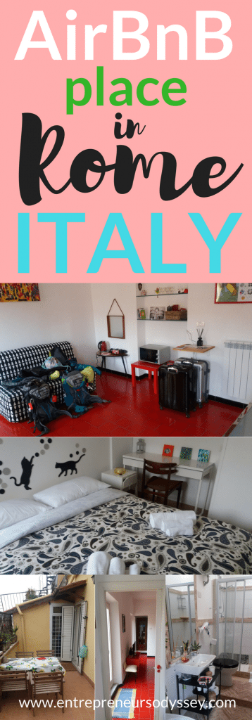 AirBnB place in Rome, Italy