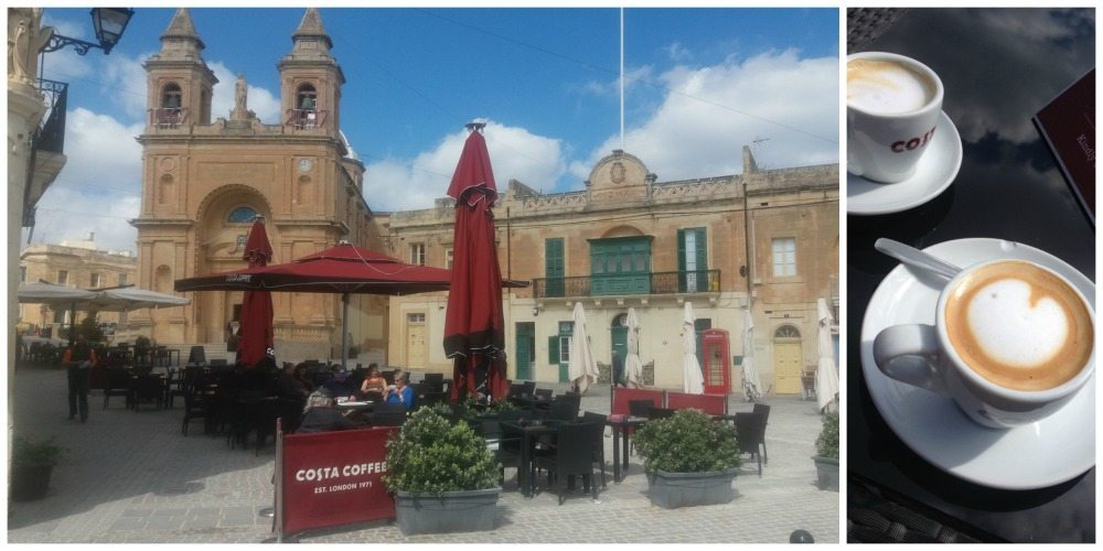 Marsaxlokk Costa Coffee in Malta